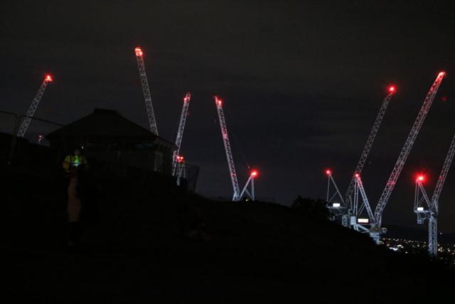 エディンバラ夜景工事