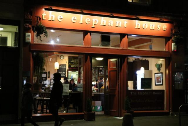 エレファントハウス@ハリポタ作者お気に入りのカフェ