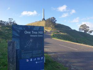 ワンツリーヒル観光 U2 One tree hill オークランド