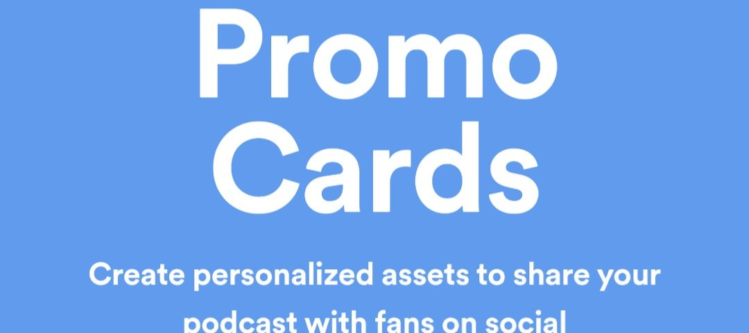spotifyプロモカードpodcast